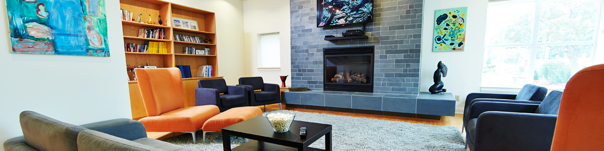 Lounge space, living room, The Residences of 1425 Bayview, 1425 Bayview Ave, 1425 Bayview Toronto